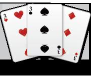 Three Card Brag Rules