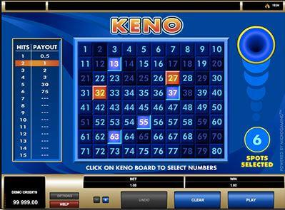 Keno is a boring game